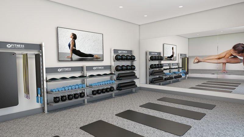 Virtual Yoga studio