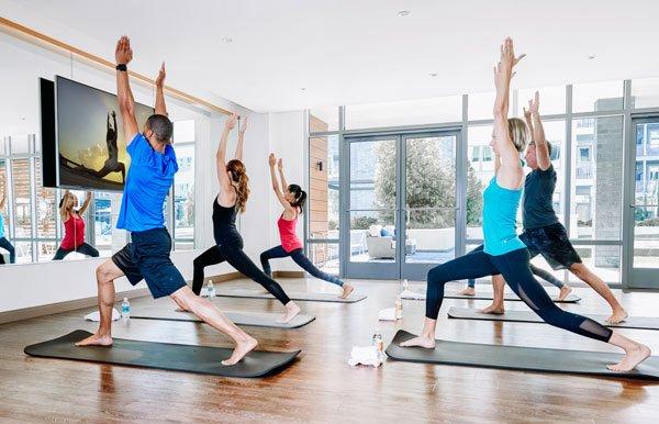 virtual fitness studio
