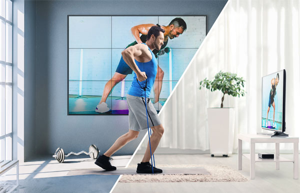 digital virtual fitness