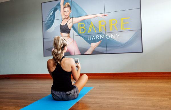 Digital Fitness in Gym
