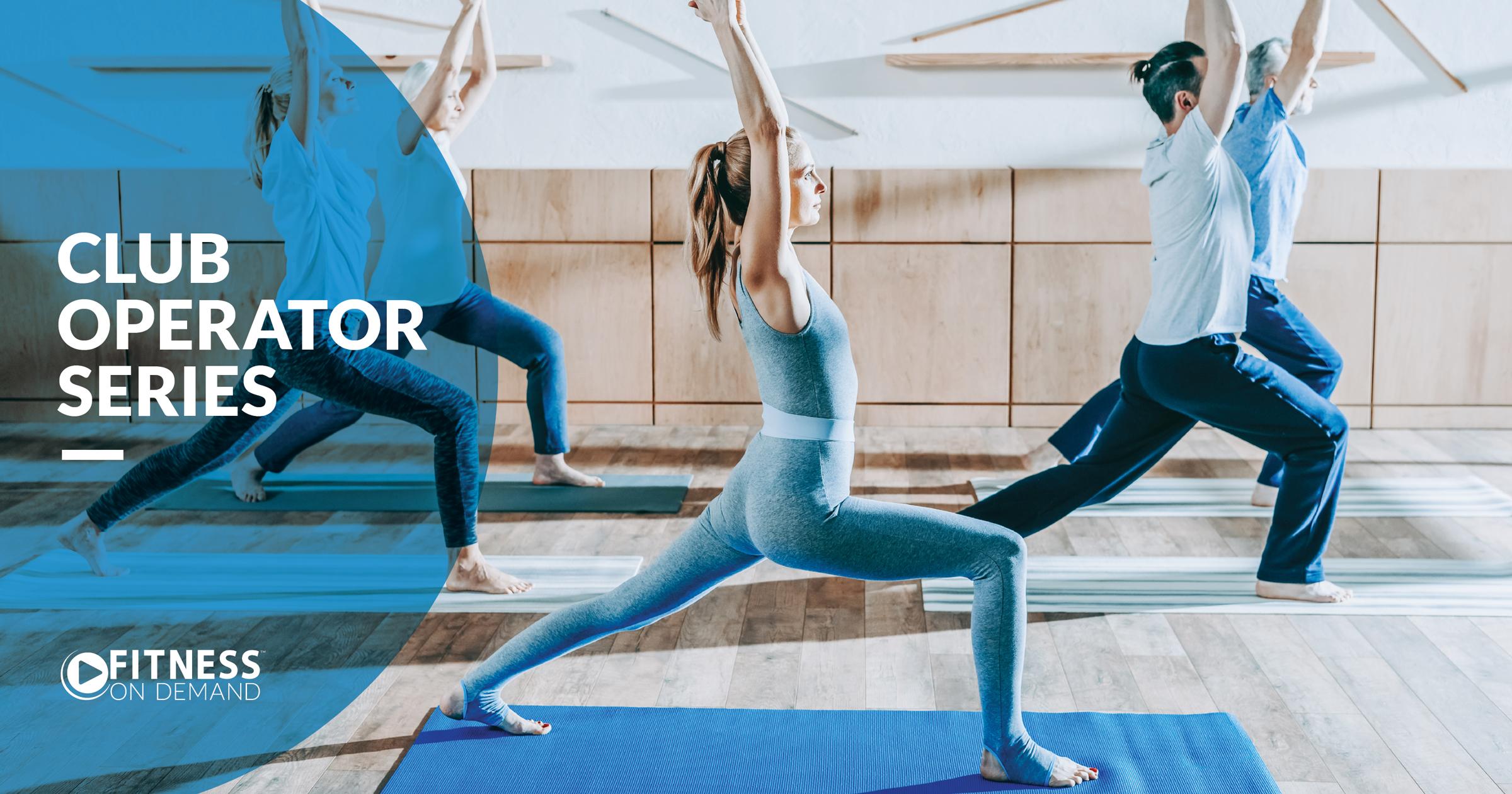 Club Operator Series Virtual Fitness